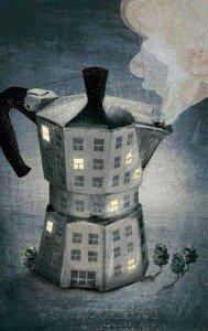 a café et bon jour poolak art