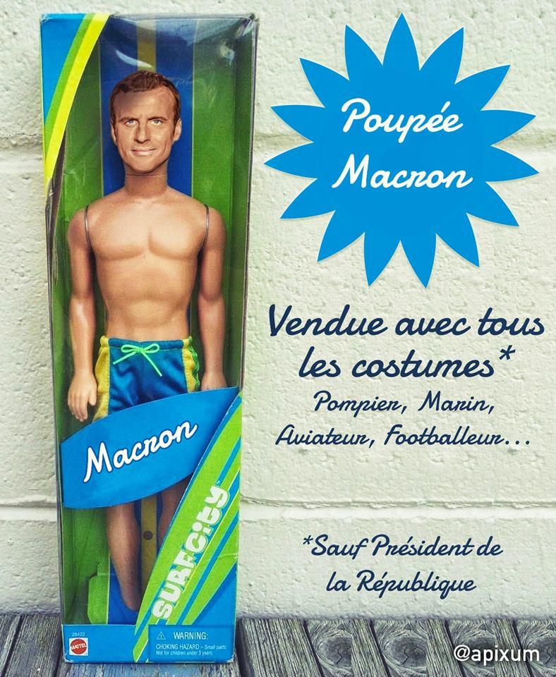 macron le jouet de noel