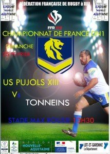 rugby dimanche 25
