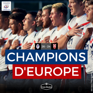 CHAMPIONS D EUROPE