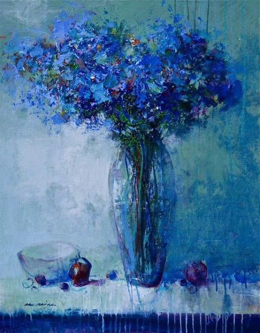 Mel Brigg - Blue Still Life