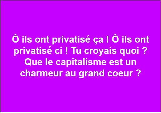 a privatise