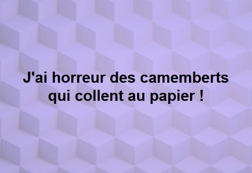 camemberts