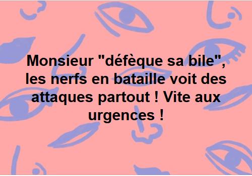 a urgence