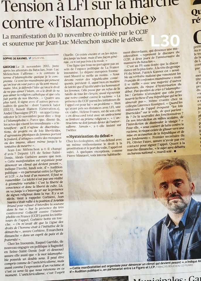 article manif  ccif