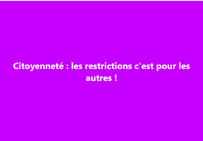 restrictions 2003